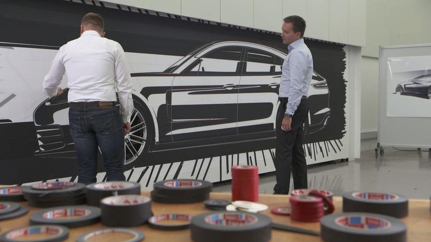 All-new Porsche Panamera design process detailed