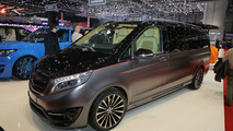 Mercedes V Class Black Crystal by Larte Design