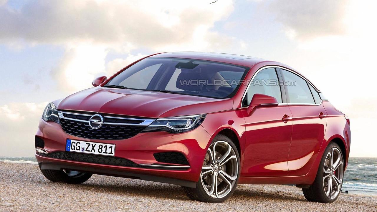 2017 Opel Insignia tasarım çalışması
