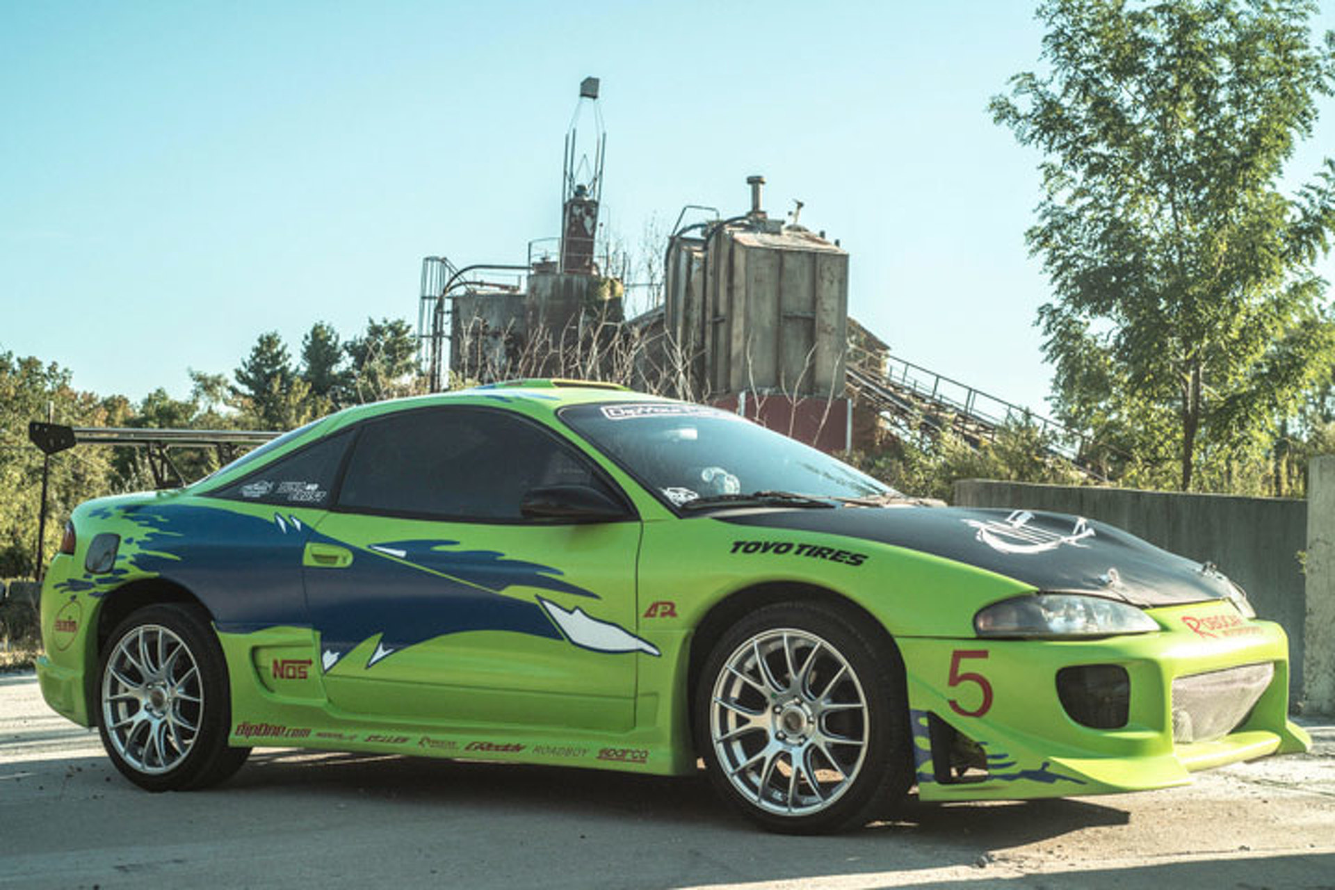 fan turns mitsubishi eclipse into fast and furious tribute