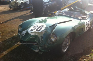 $30 Million Aston Martin DBR1 Wrecked While Racing