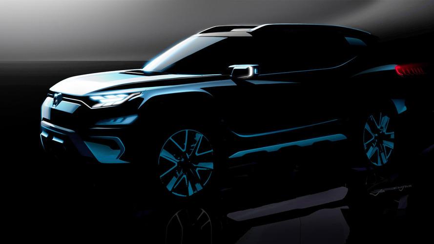 SsangYong prépare encore un nouveau concept-car de SUV