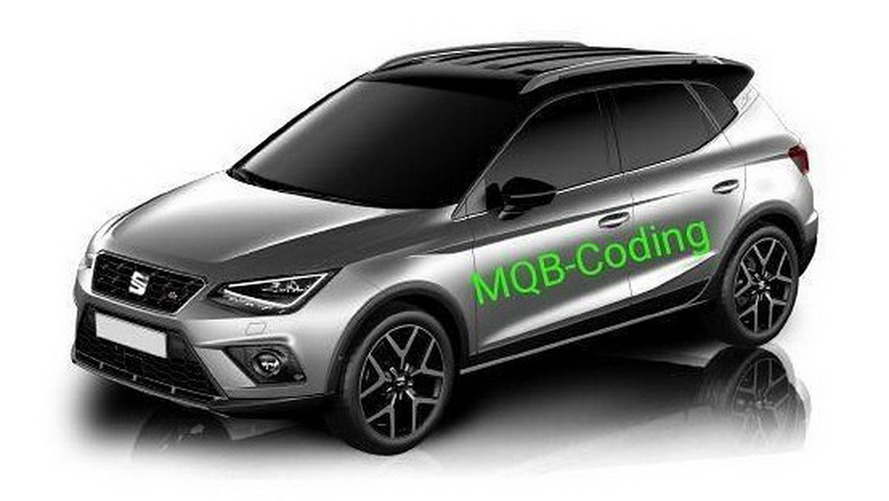 2018 SEAT Arona Leak Fully Reveals The Ibiza Crossover