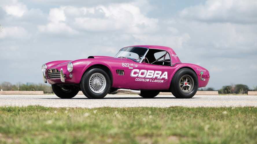 Rare Shelby Cobra 'Dragonsake' Could Go For $1.3M At Auction