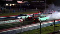 Tesla Model S P100D drag races different vehicles
