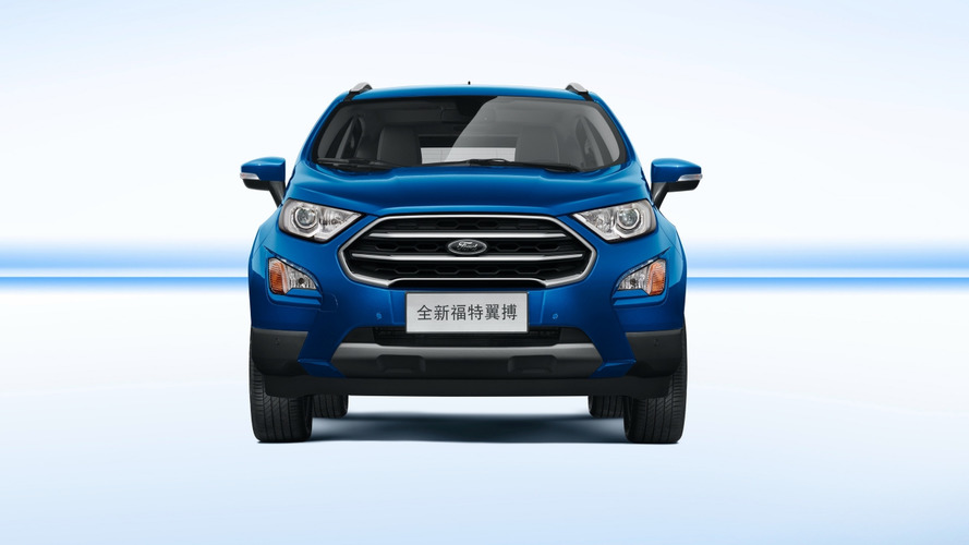 Ford EcoSport 2018 para o Brasil estará no Salão de Buenos Aires