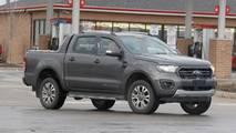 Ford Ranger Wildtrak Spied