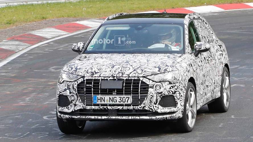 Audi RS Q3 Possibly Spied Lapping The Nürburgring