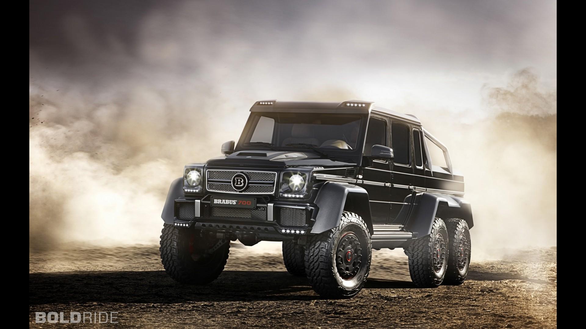 Brabus MercedesBenz B63S 700 6x6