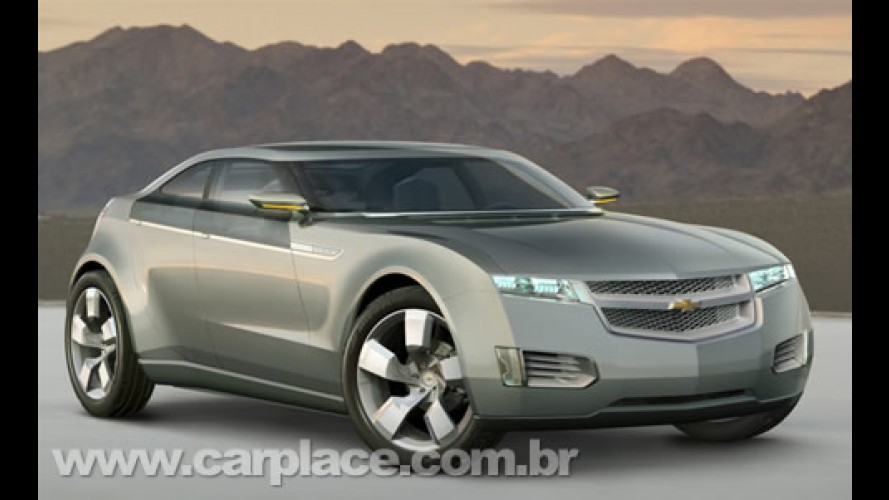 Chevrolet Volt - Sedã elétrico estará no Salão do Automóvel de São Paulo