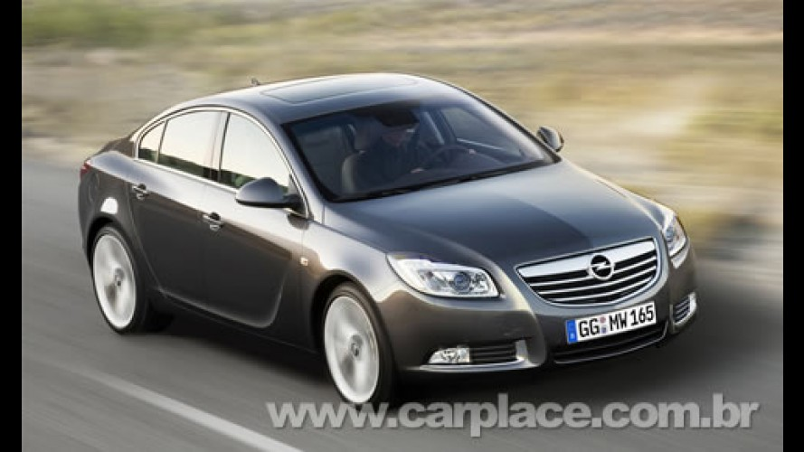 Opel Insignia é eleito o Carro do Ano na Europa - Novo Fiesta fica em segundo