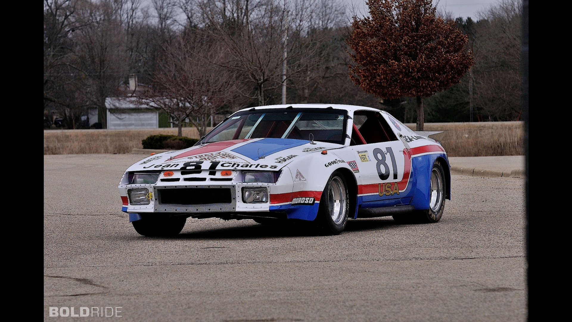 Chevrolet Camaro Le Mans Race Car