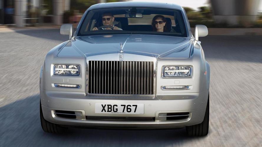 Rolls-Royce Phantom üretim