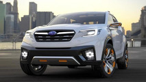 Subaru confirms three-row crossover, will be built in the U.S.