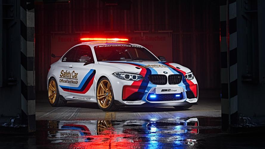 BMW M2 MotoGP Safety Car unveiled [video]