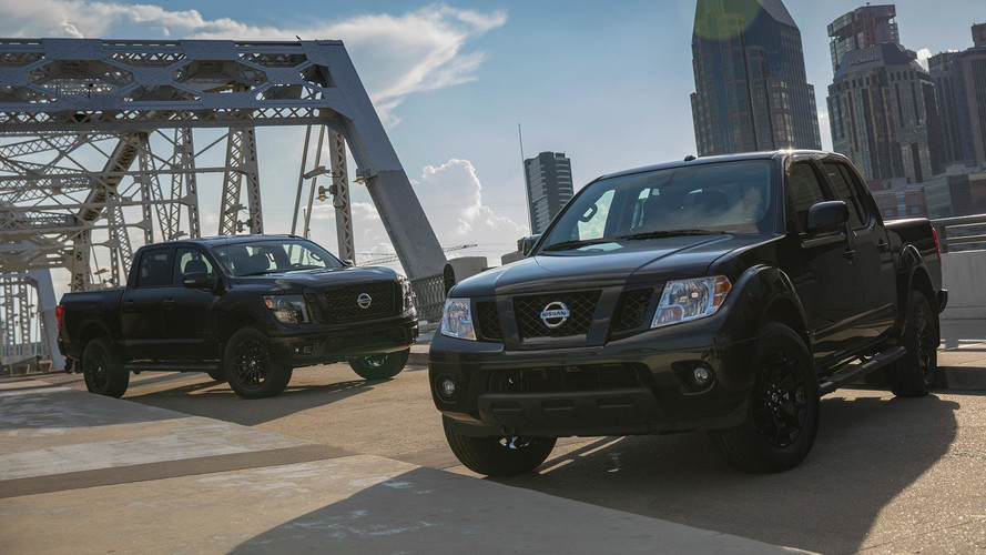 Nissan Frontier And Titan Midnight Edition