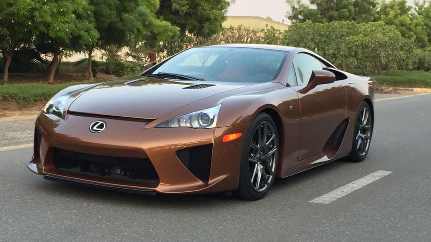 Cette unique Lexus LFA est à vendre... très cher !