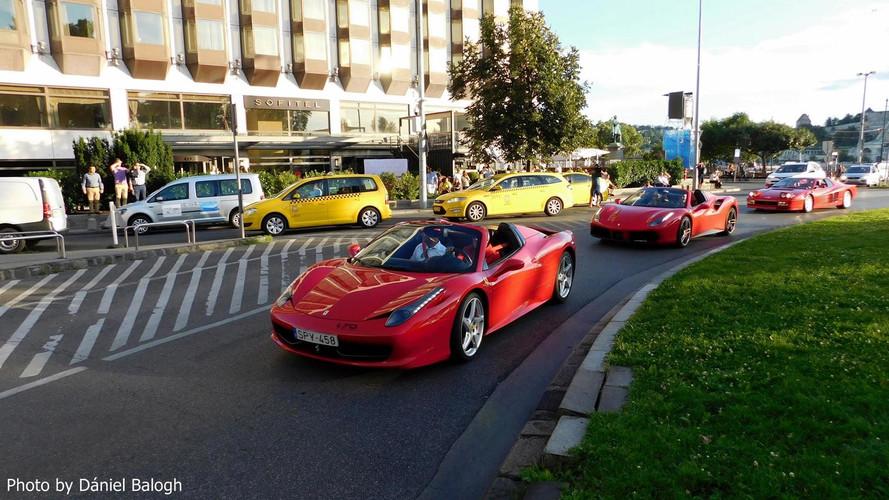 Versenykamionok és luxus sportautók lepik el Budapest belvárosát