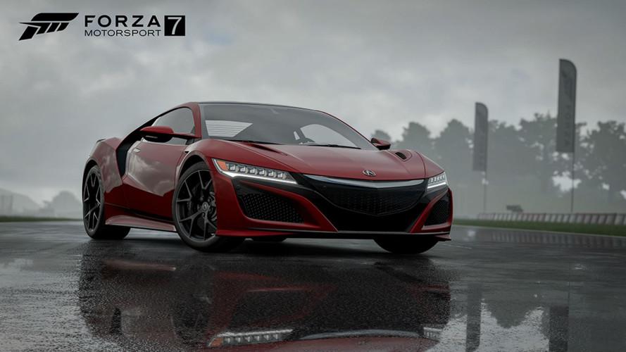 Les Honda Civic Type R et NSX annoncées dans Forza Motorsport 7