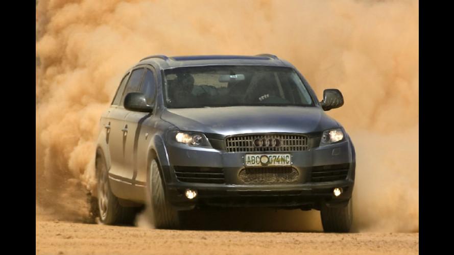 Audi Q7: Kleiner Ausblick auf den großen Offroader