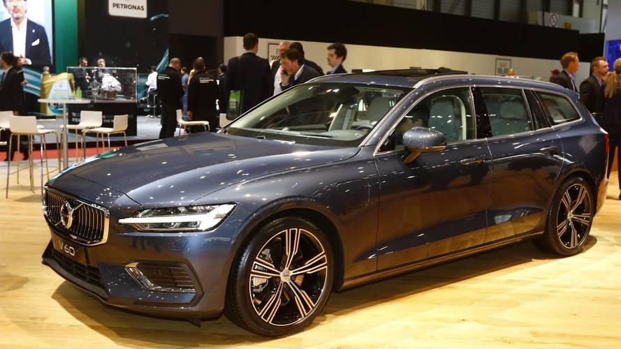 Volvo V60 au salon de Genève 2018