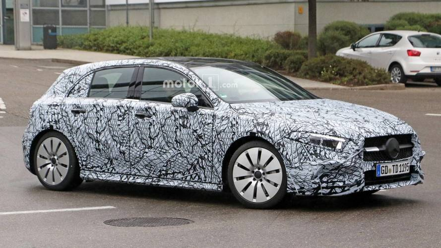 Warm new Mercedes-AMG A35 hatch spied during testing