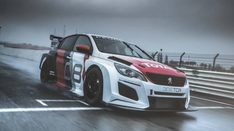 2018 Peugeot 308 TCR Debuts With 350 HP And Big Rear Wing