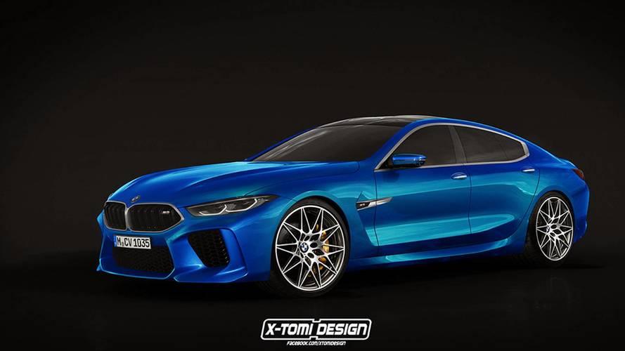 La BMW M8 Gran Coupé de série !