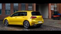 Volkswagen Golf restyling, le foto sfuggite 002