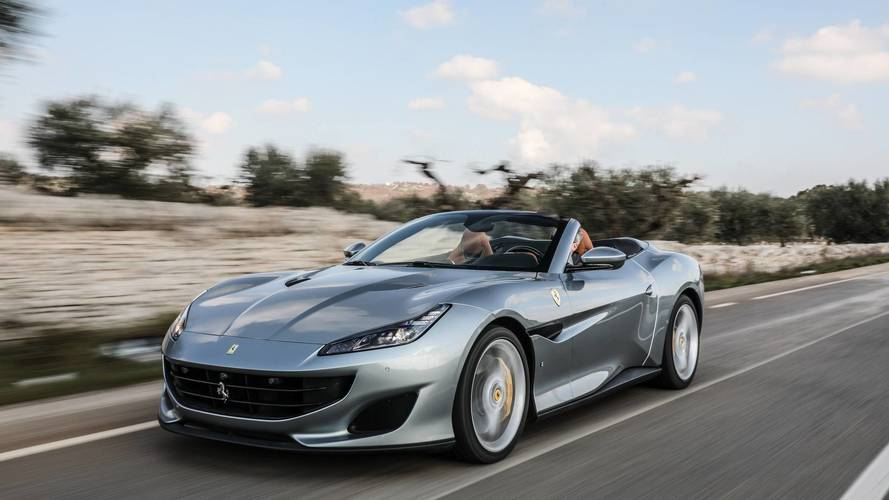 Ferrari Portofino Türkiye yollarına çıktı