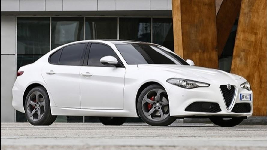 Alfa Romeo Giulia, arriva la 2.0 Turbo da 200 CV
