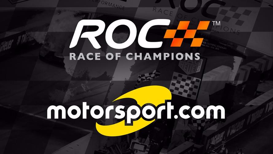 Motorsport.com annonce un partenariat officiel avec la Race of Champions
