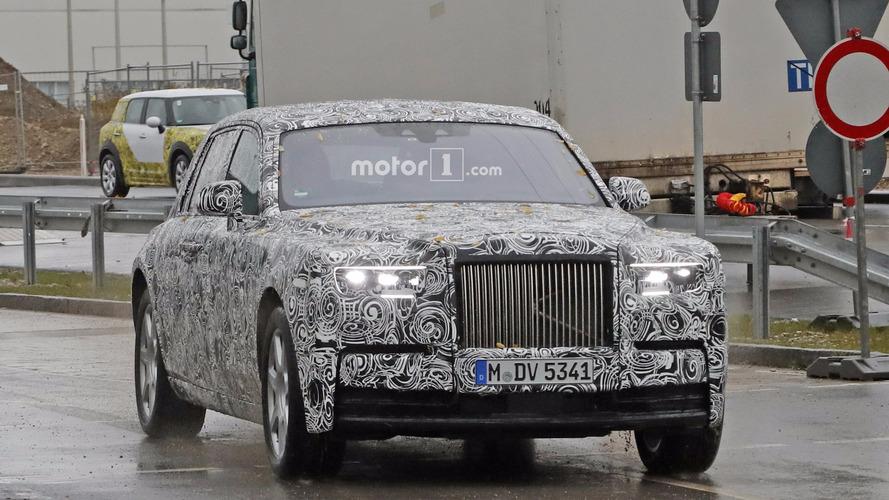2018 Rolls-Royce Phantom casus fotoğrafları