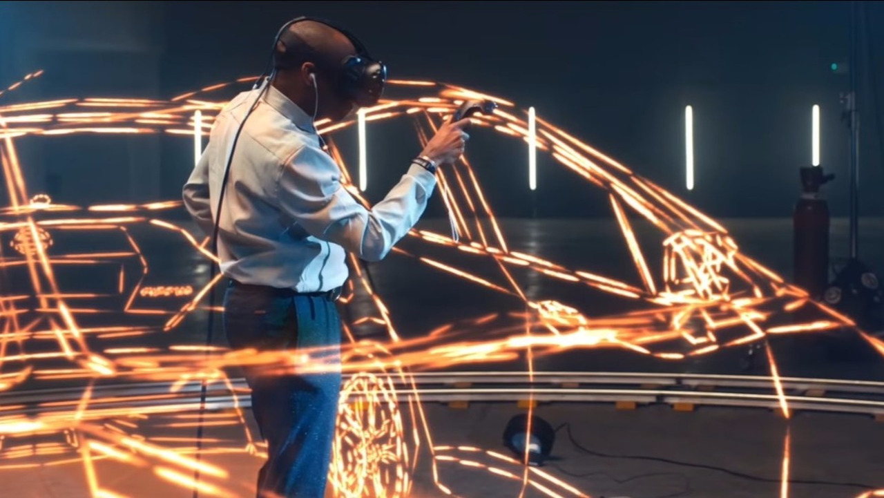 Stephen Wiltshire drawing Nissan Micra