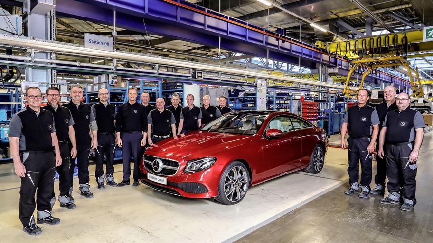 Mercedes E-Sınıfı Coupe'nin üretimine Bremen'de başlandı