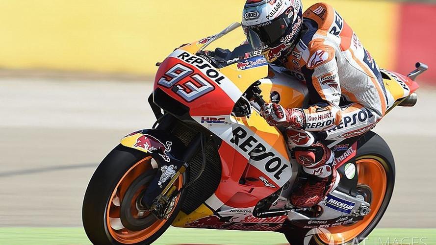 Moto GP - Em corrida nervosa, Márquez triunfa em Aragón; Rossi é 5º