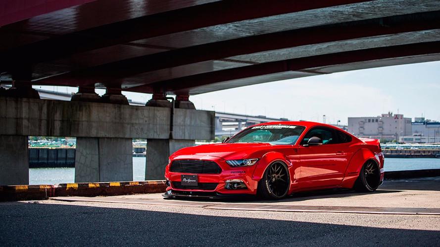 Ford Mustang Liberty Walk 2018