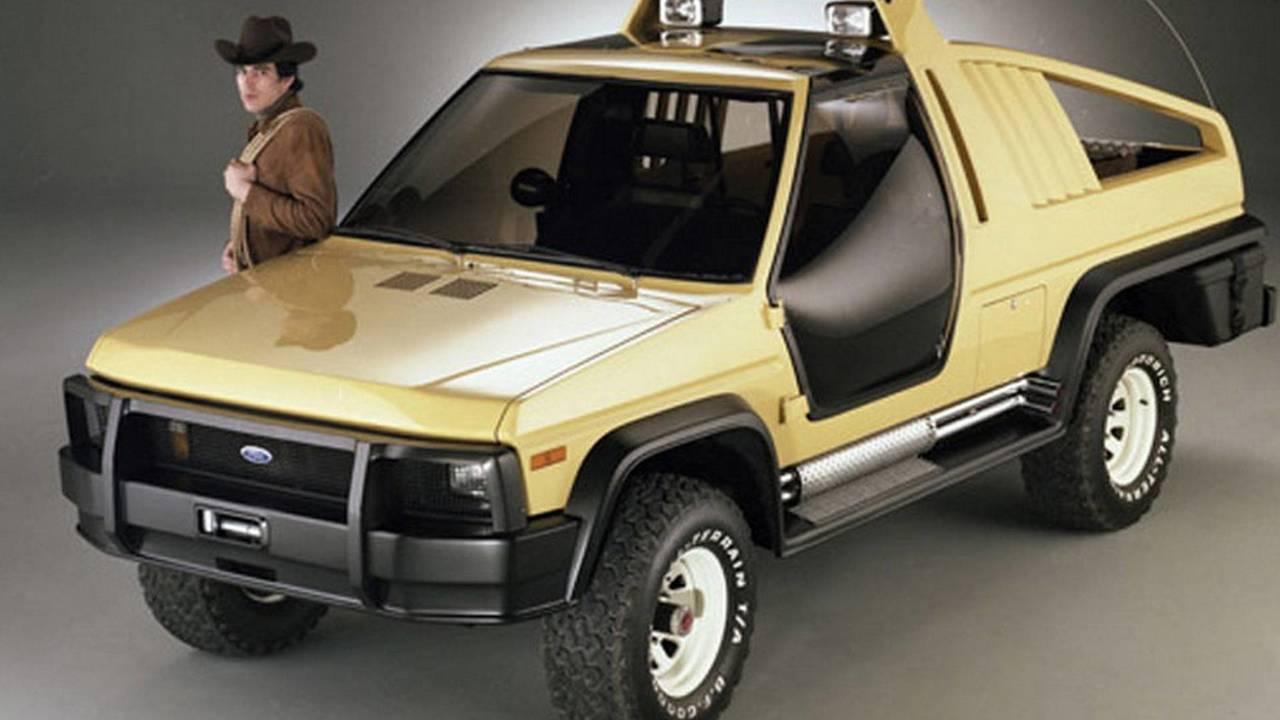 1981 Ford Bronco Montana Lobo 1988 Bronco Dm 1 Concept