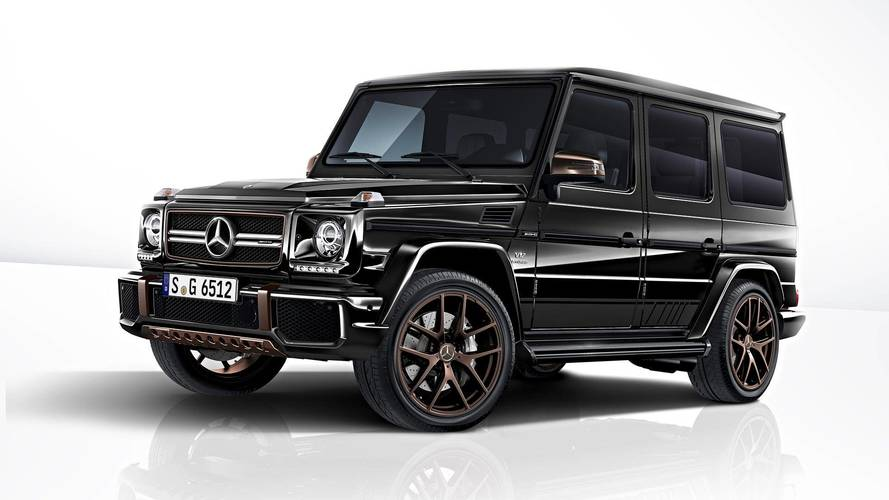 Mercedes-AMG G65 Final Edition Costs $368K, Limited To 65 Units [UPDATE]