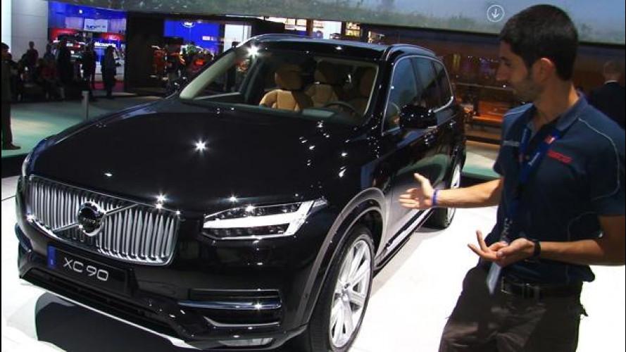 Salone di Parigi: Volvo XC90, lo show virtuale