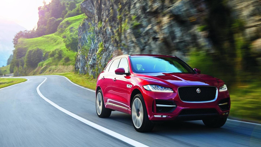Jaguar F-PACE priced from $40,990 in the U.S.