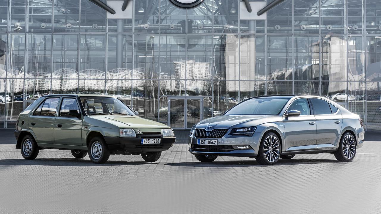 Skoda fête ses 25 ans dans le giron VW