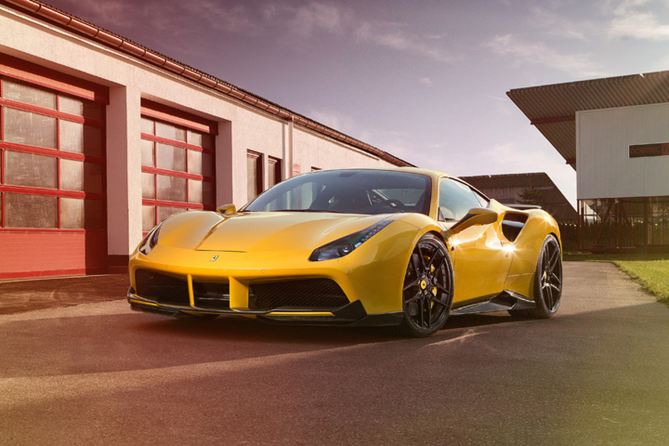 Meet the Ferrari 488's Sinister, 772-HP Sibling