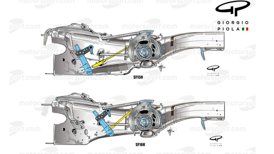 Tech analysis: How Ferrari's engine push has delivered a suspension boost