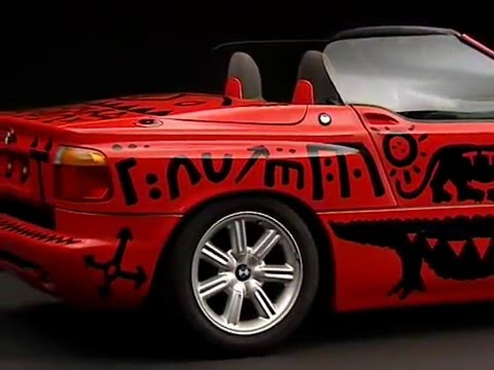 BMW Z1 Art Car von AR Penck, 1991