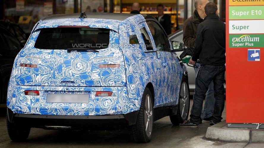 BMW i3 spied with new range-extending engine
