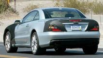 Mercedes SL Facelift Spied