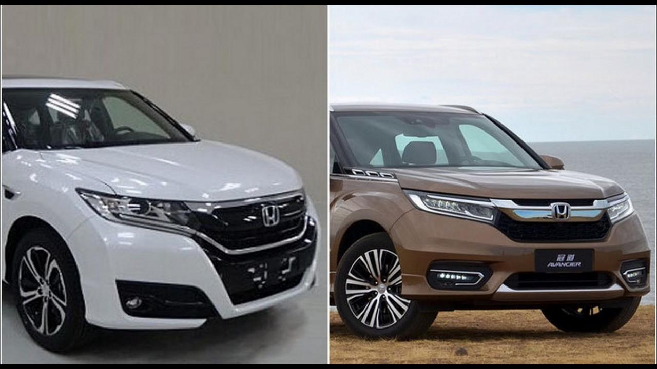 """Novo Honda UR-V aparece """"limpinho"""" a poucos meses da estreia"""