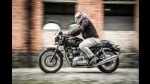 Flagra! Triumph testa Bonneville com estilo bobber e motor maior
