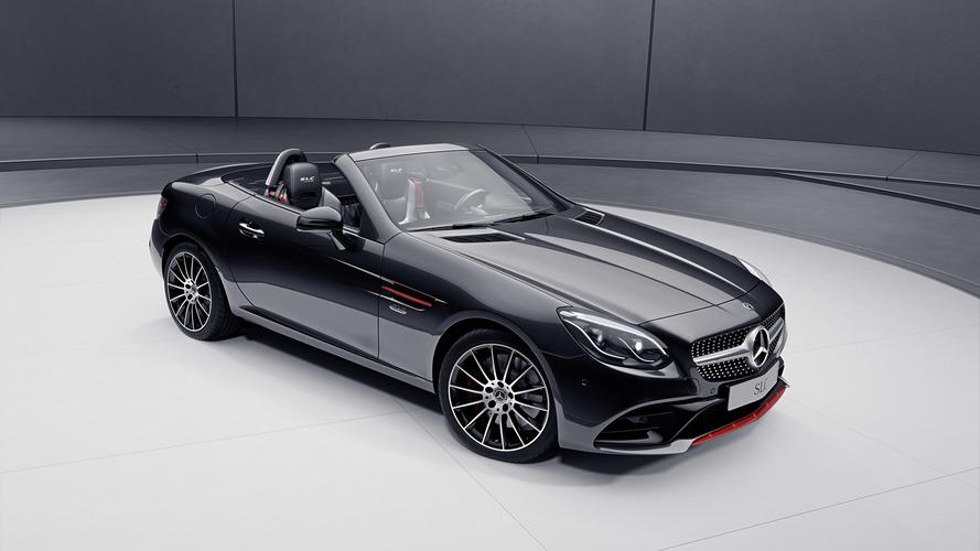 2017 Mercedes SLC RedArt Edition and SL designo Edition